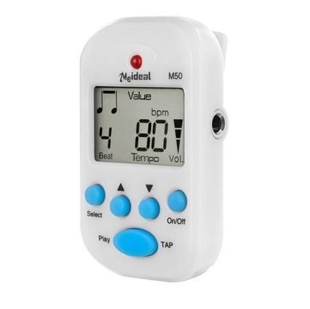 Metronom elektroniczny MEIDEAL M50 white